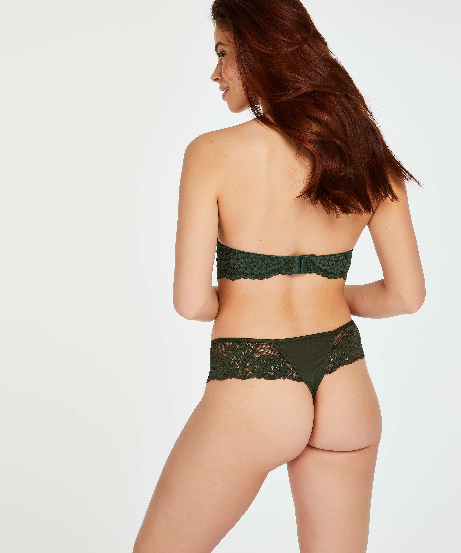 Tanga bóxer Nellie, Verde, main