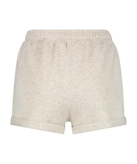 Pantalones cortos Sweat Brushed, Beige