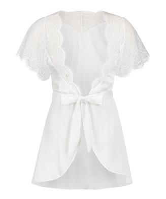Kimono Cap Sleeve, Blanco