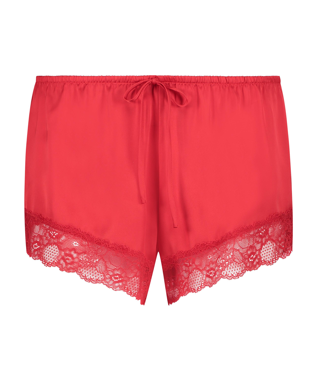 Pantalón de pijama Satin, Rojo, main