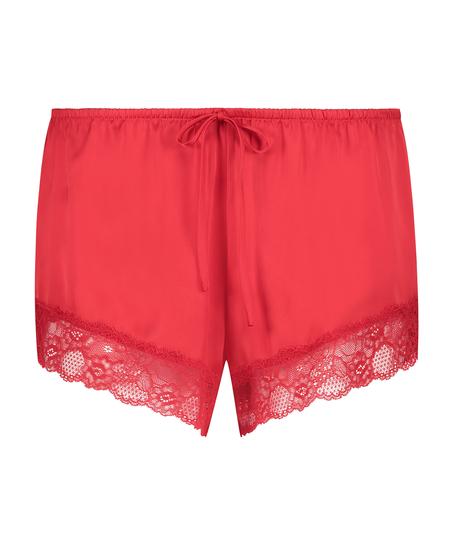 Pantalón de pijama Satin, Rojo