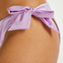 Braguita de bikini Rio Luxe Shine, Morado