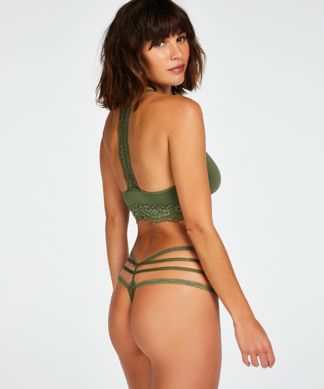 Bralette sin costuras Rose, Verde, main