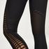 HKMX Leggings de cintura alta sin costuras Karma, Negro