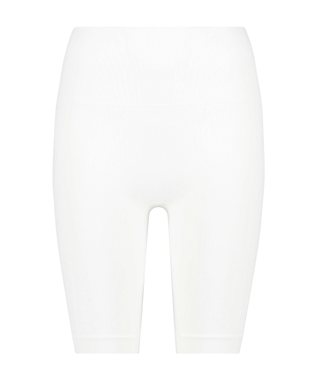 Short de ciclismo Bae, Blanco, main