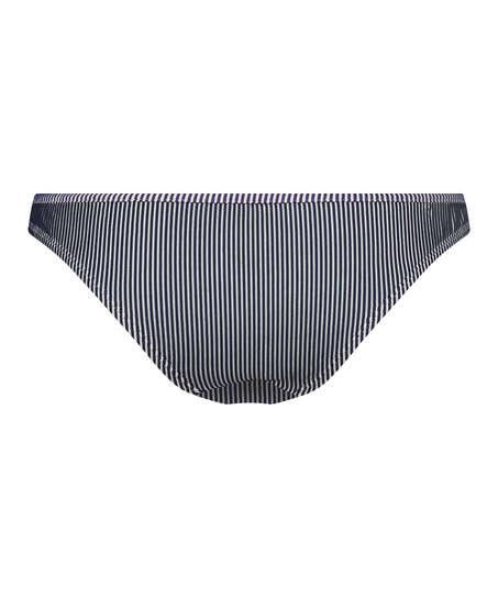 Braguita de bikini rio Ruffle Stripe, Azul