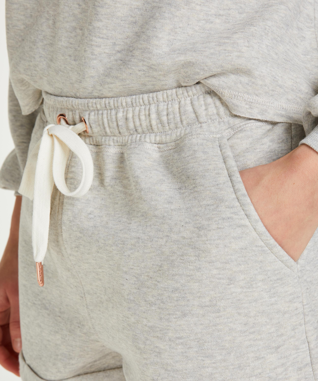 Pantalones cortos Sweat Brushed, Beige, main