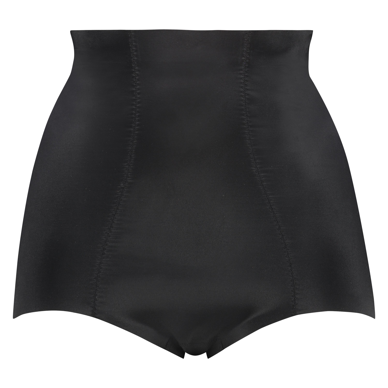 Braguita scuba moldeadora de cintura alta - Level 3, Negro, main