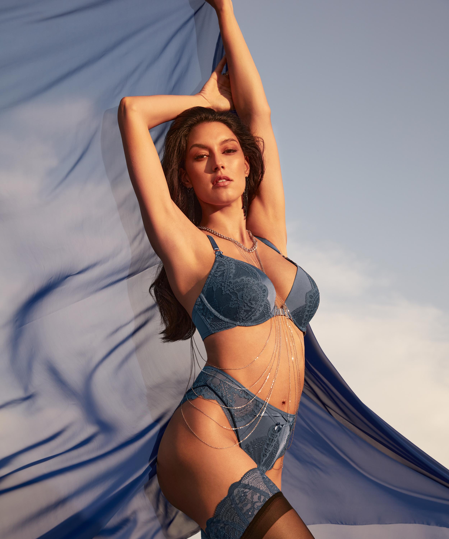 Brasileña de tiro alto Philomena Rebecca Mir, Azul, main