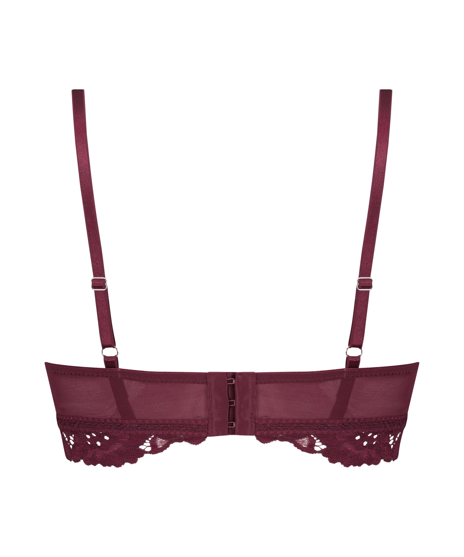 Sujetador preformado sin aros longline Shiloh, Rojo, main