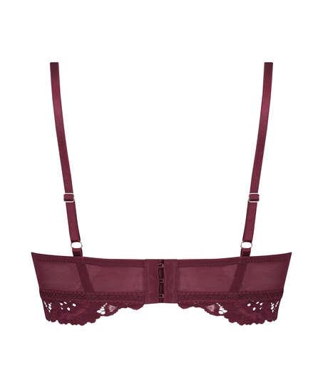 Sujetador preformado sin aros longline Shiloh, Rojo