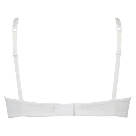 Sujetador de aros preformado Secret lace, Blanco