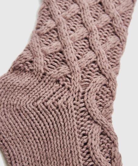 Calcetines Knit, Morado