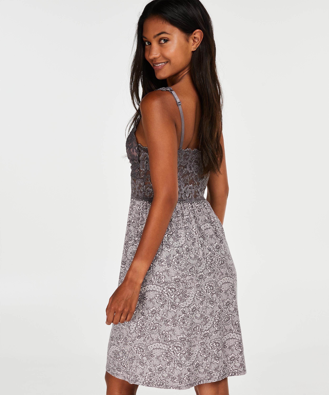 Vestido combinación Modal Lace, Rosa, main