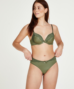 Braguita brasileña short Gina, Verde