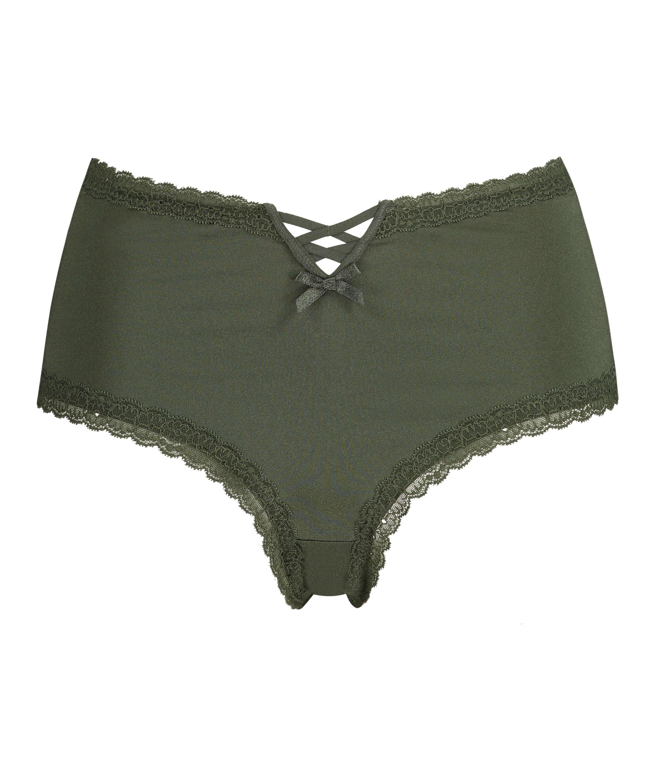 Brasileña en forma de V Vixen Curvy, Verde, main