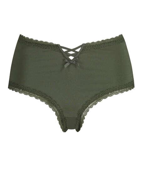 Brasileña en forma de V Vixen Curvy, Verde
