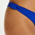 Braguita de bikini de corte alto Luxe, Azul