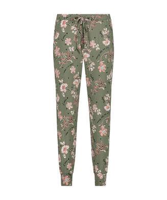 Pantalón de pijama Petite Flower Words, Verde