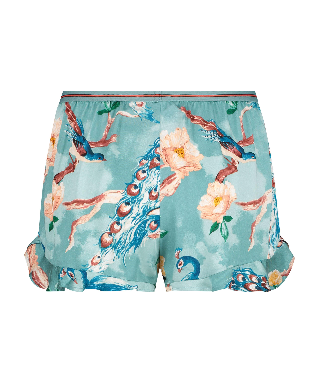 Shorts Pavo Real, Azul, main