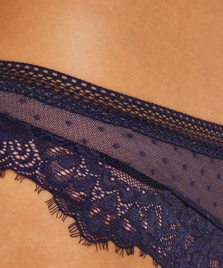 Brasileña Bessie, Azul