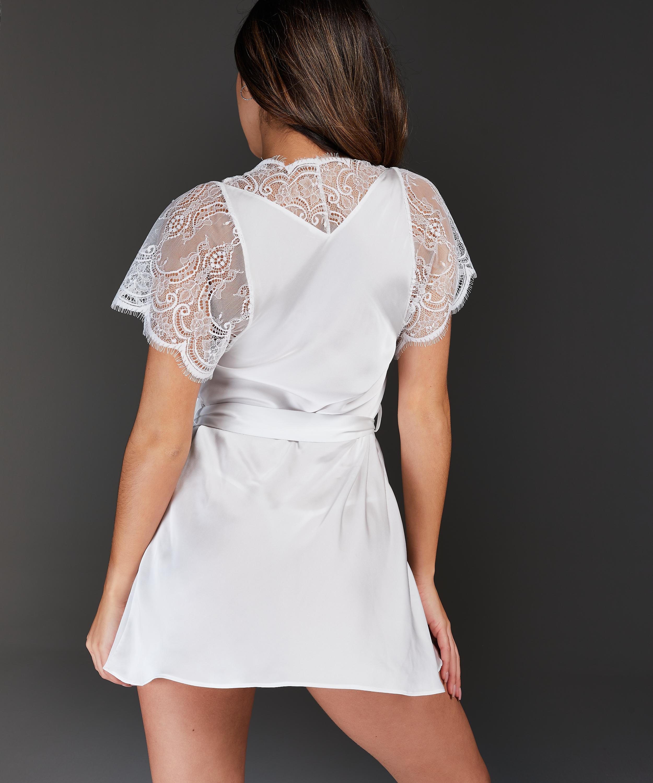 Kimono Cap Sleeve, Blanco, main