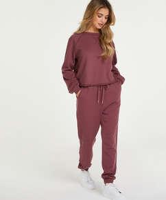 Pantalón de pijama Petite Sweat French, Rosa