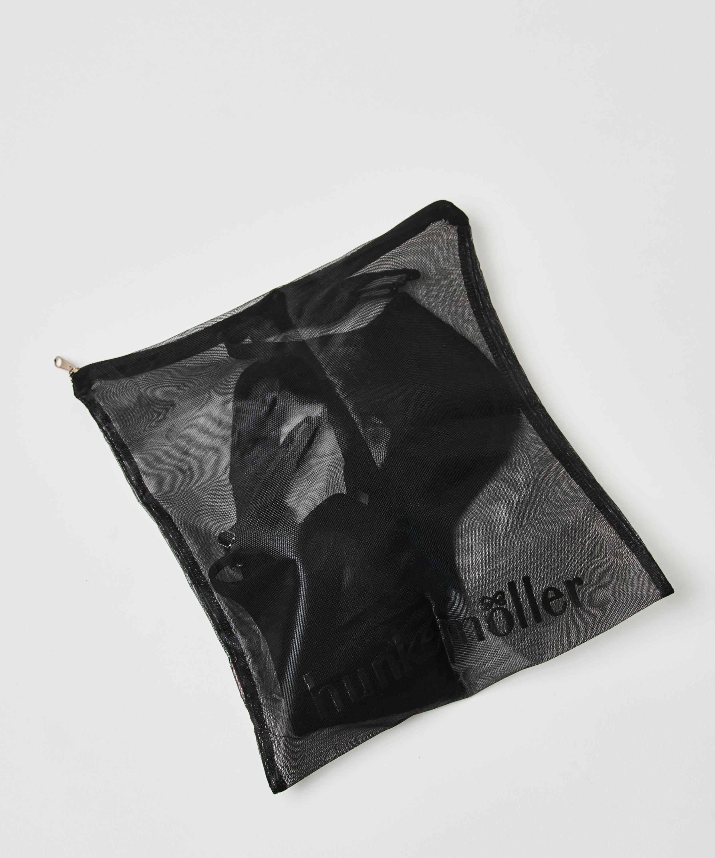Bolsa para el lavado prendas delicadas cremallera, Negro, main