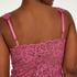 Vestido lencero Nora Lace, Rosa