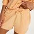 Shorts Sweat French, Naranja
