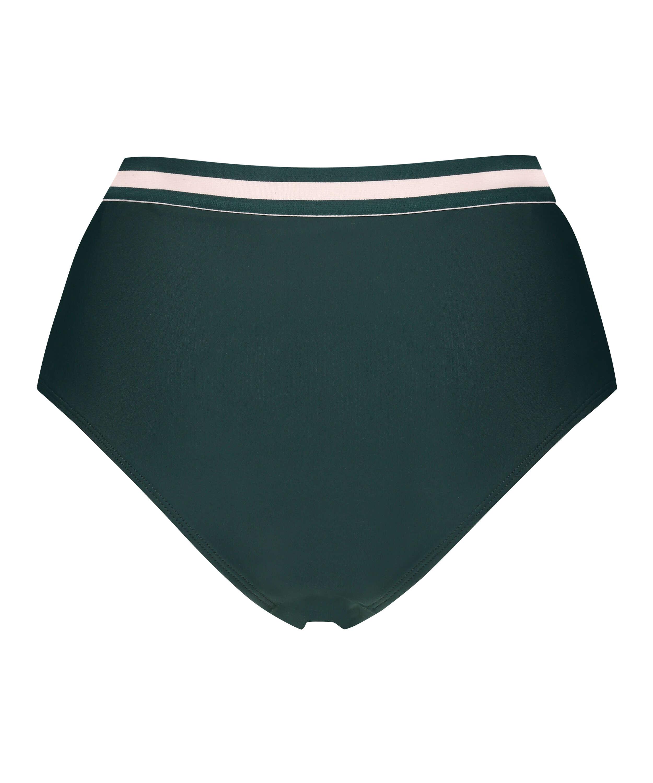 Braguita de bikini de corte alto atrevido Pinewood, Verde, main