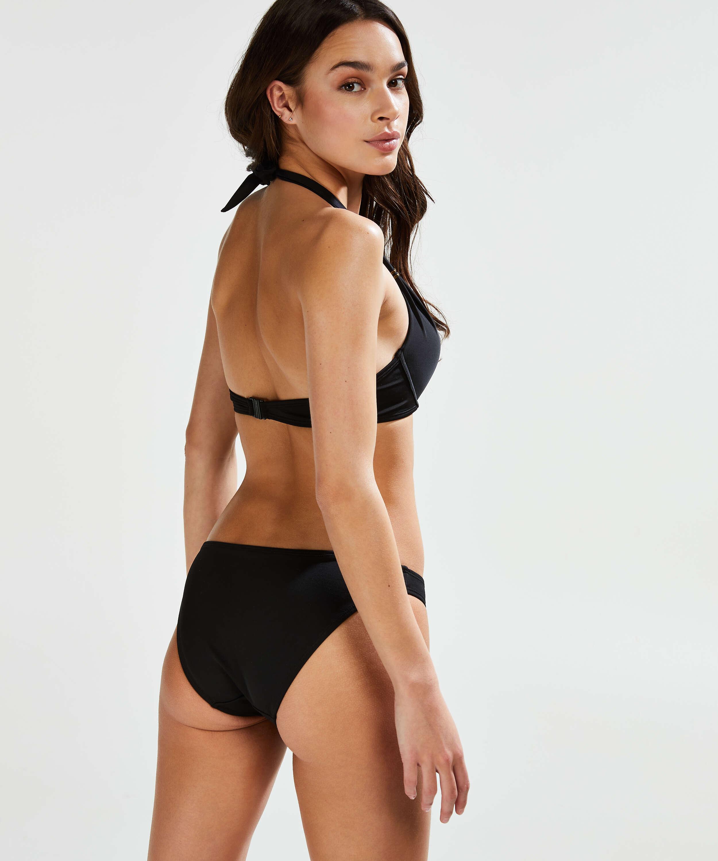Top de bikini push-up preformado Sunset Dream Copa A - E, Negro, main