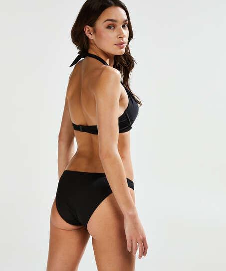 Top de bikini push-up preformado Sunset Dream Copa A - E, Negro