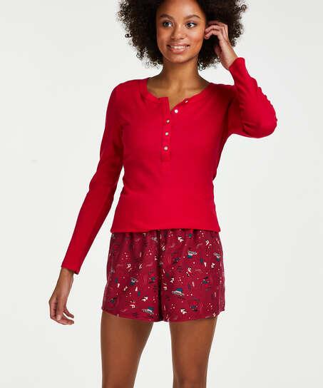 Short Twill, Rojo