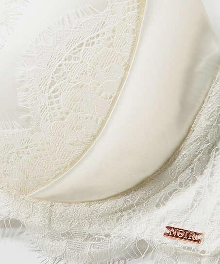 Sujetador de aros preformado Hannako, Blanco