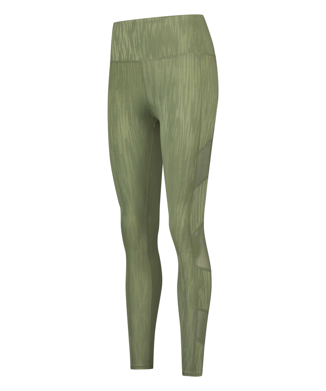 Leggings deportivos de cintura alta HKMX Mojave, Verde, main
