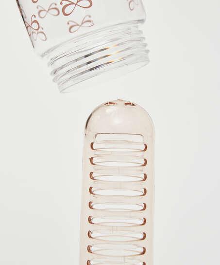 Bidón de agua con filtro Patched, Rosa