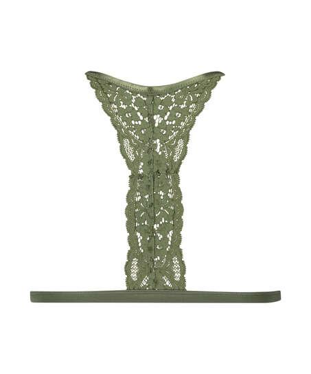 Bralette triangular preformado Rose, Verde