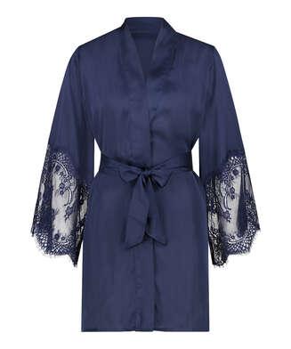 Kimono Satin, Azul
