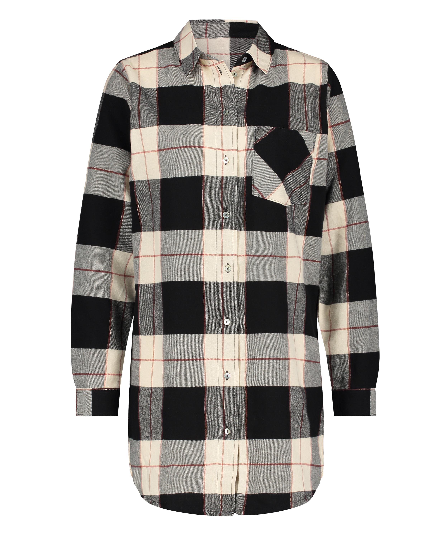 Camiseta de hombre de manga larga, Negro, main