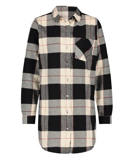 Camiseta de hombre de manga larga, Negro