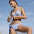 Braguita de bikini rio Scallop, Azul