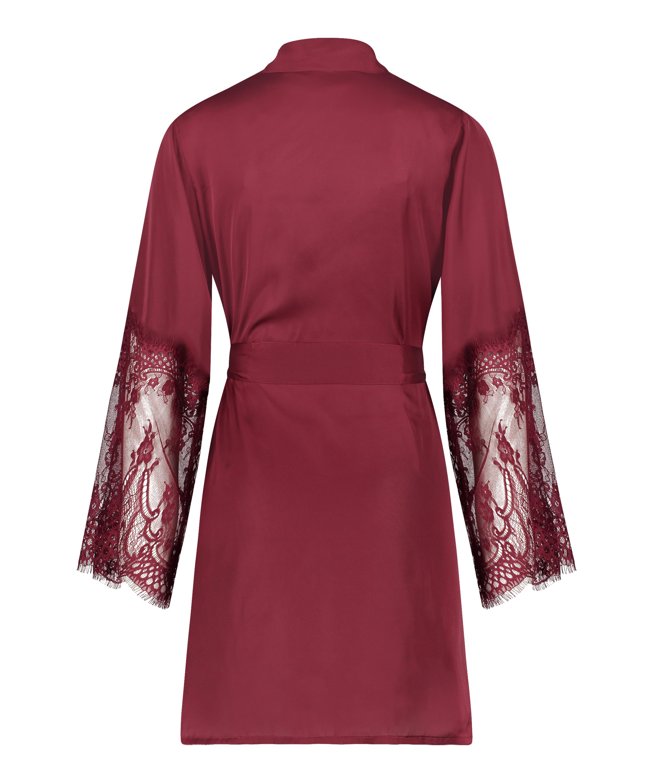 Kimono Satin, Rojo, main