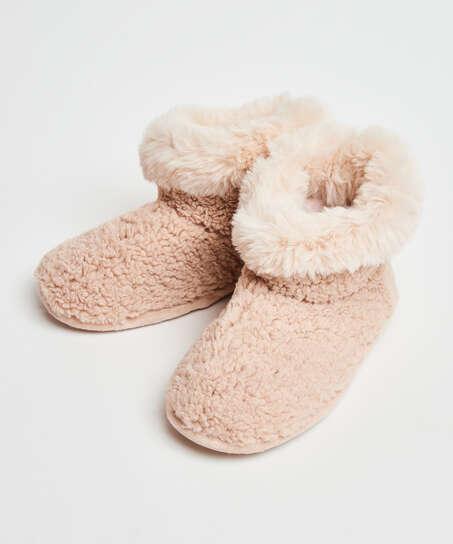 Zapatillas Teddy, Blanco