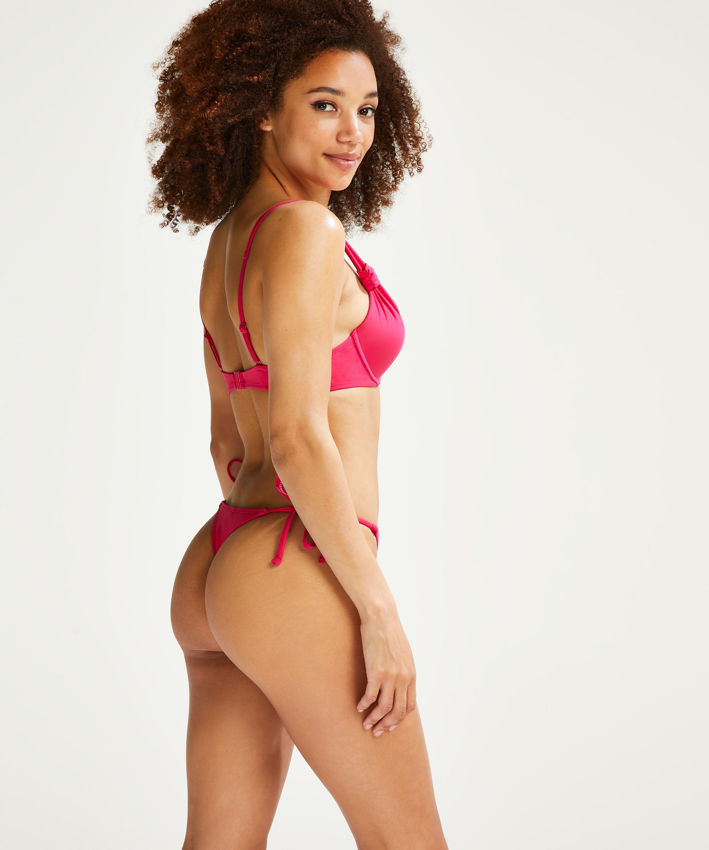 Braguita de bikini y tanga Luxe, Rosa, main