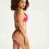 Braguita de bikini y tanga Luxe, Rosa