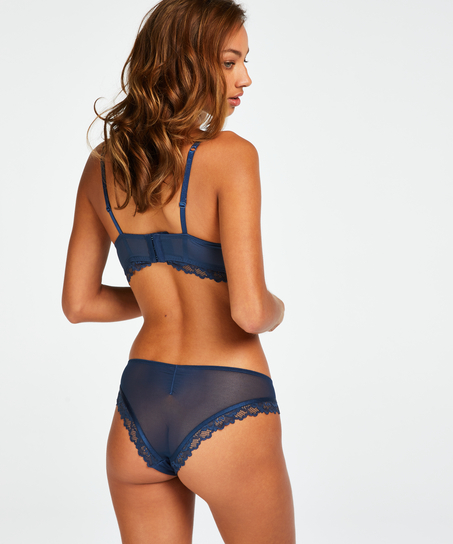 Brasileña Yvonne, Azul