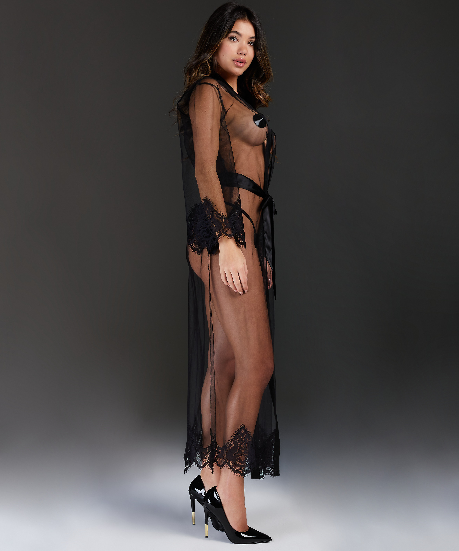 Kimono Long Cravache, Negro, main