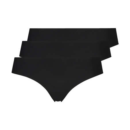 Brasileña Invisible Lace Back, Negro