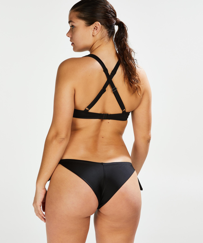 Braguita de bikini brasileña Sunset Dream, Negro, main